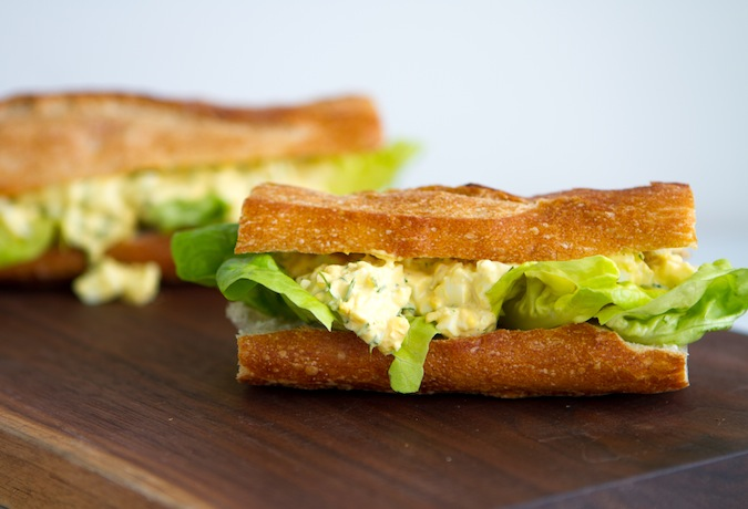 Ella's Egg Salad - Chez Us