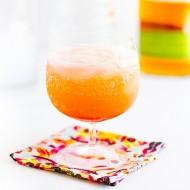 Rhubarb Rye Soda