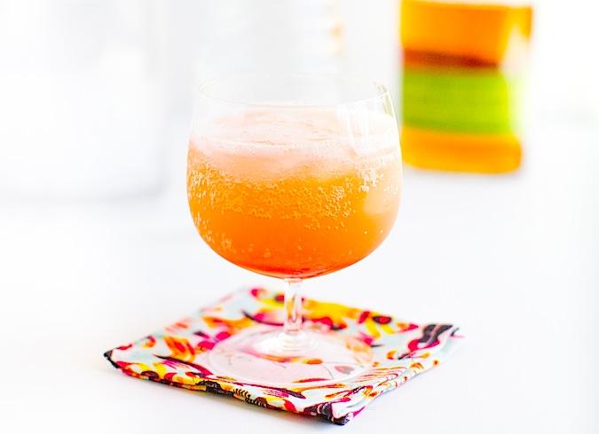 Rhubarb Rye Soda - Chez Us