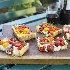 Easy Summer Tomato Tart