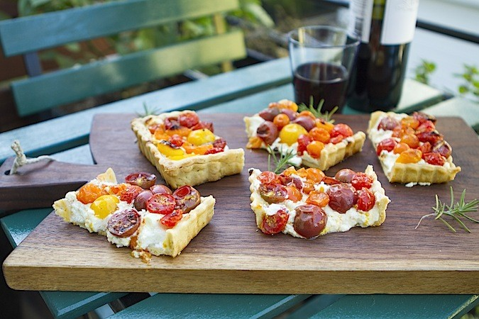 Easy Summer Tomato Tart