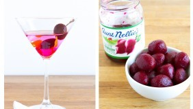 Aunt Nellie's Pickled Beet Martini