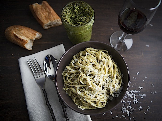 Sage and Walnut Pesto - Chez Us