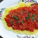 Meatless Monday | Roasted Spaghetti Squash