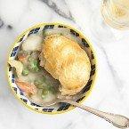 Chicken Soup Pot Pie Soup