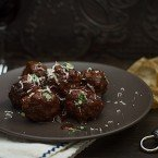 Slow Braised Italian Meatballs