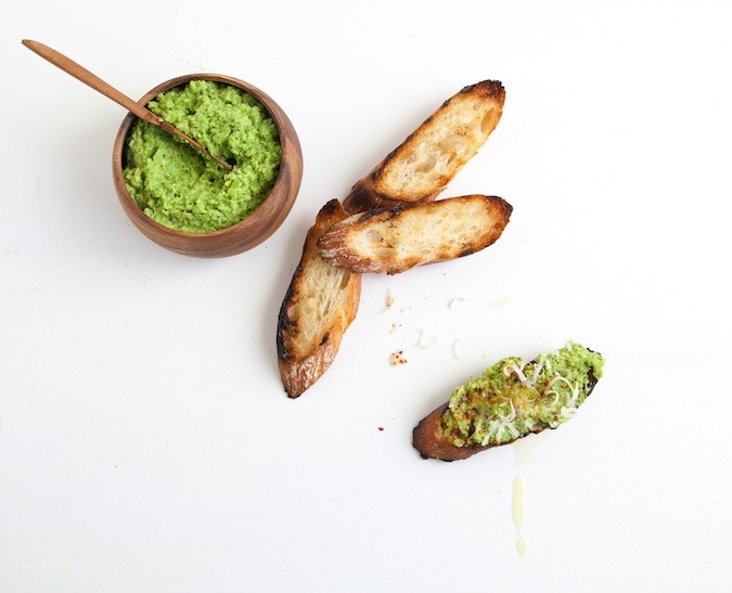 Smashed Pea Spread