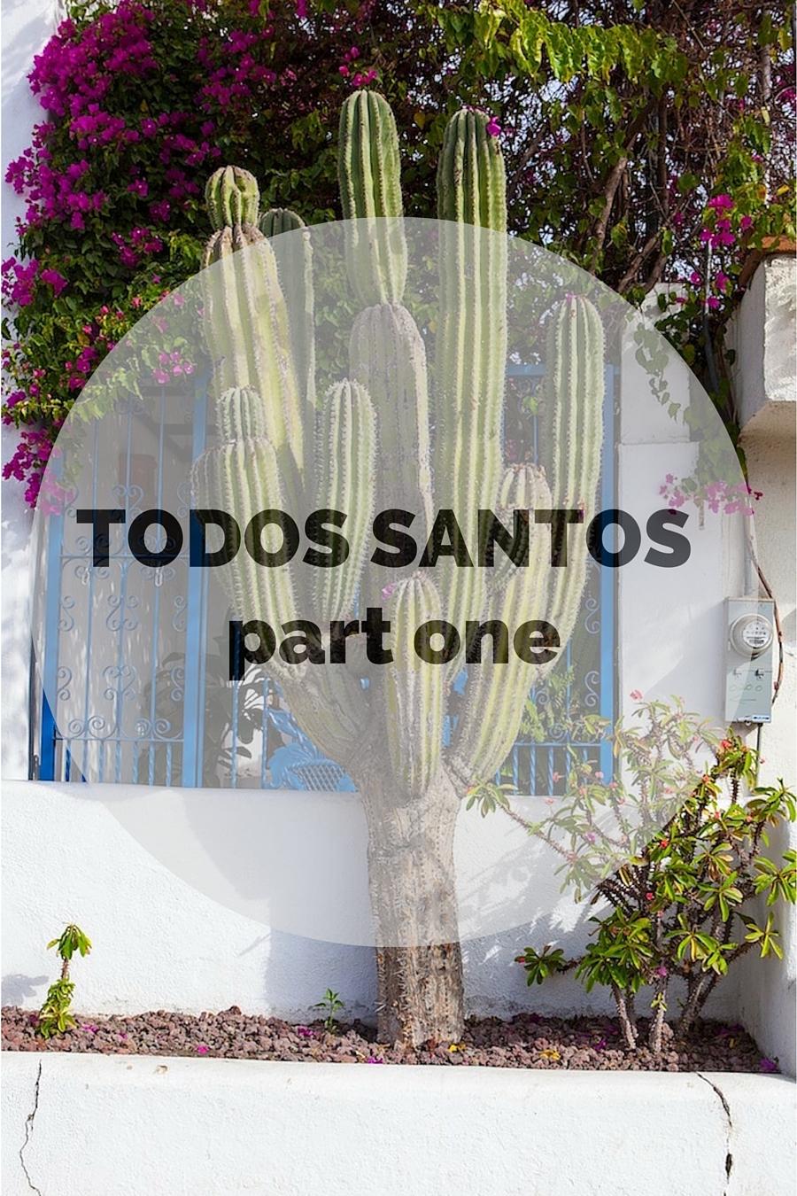 Todos Santos (part one)