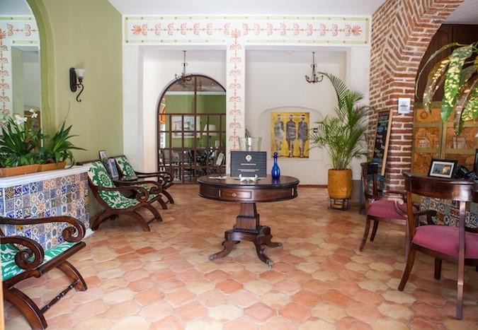 Lobby Guaycura Hotel