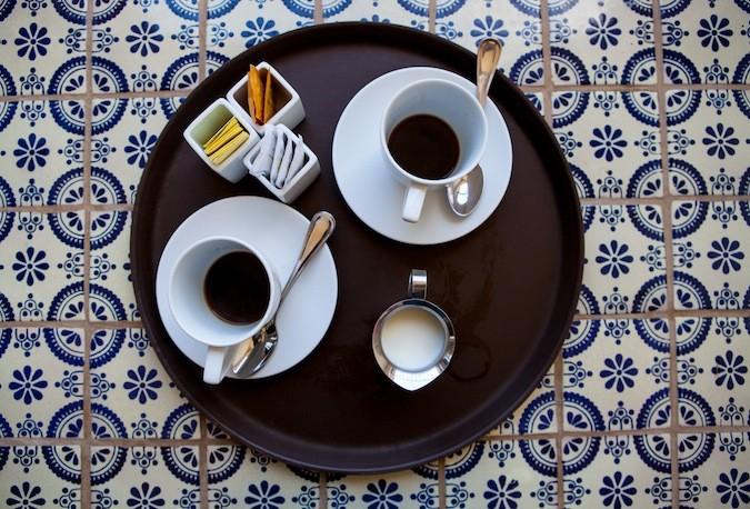 Morning coffee Guaycura Hotel