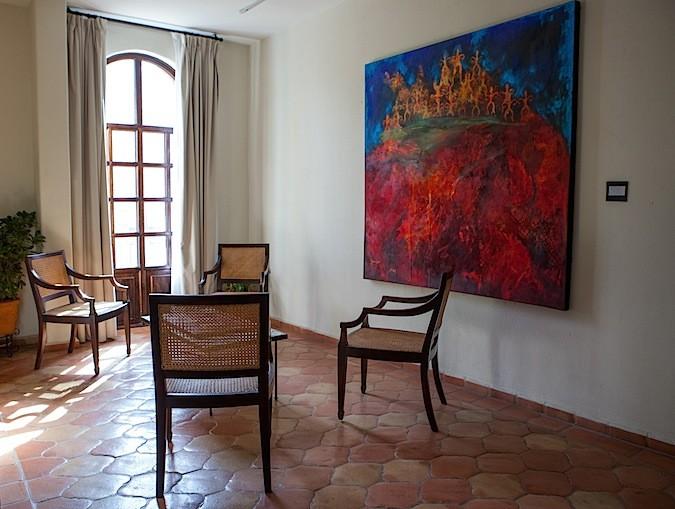 Sitting area Guaycura Hotel