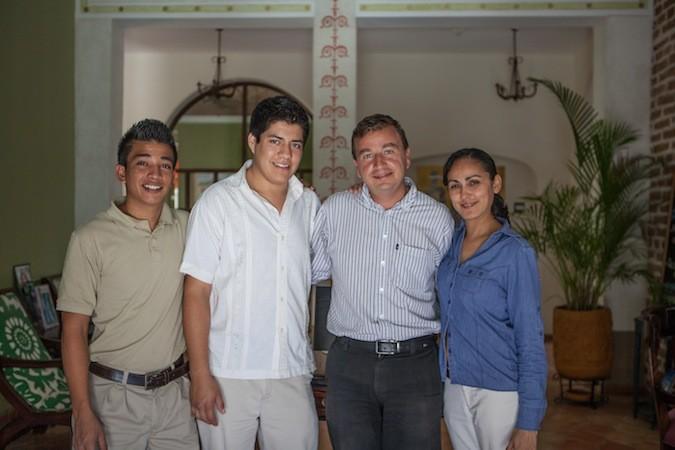 Guaycura Hotel Staff