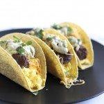 On the Go Breakfast Tacos