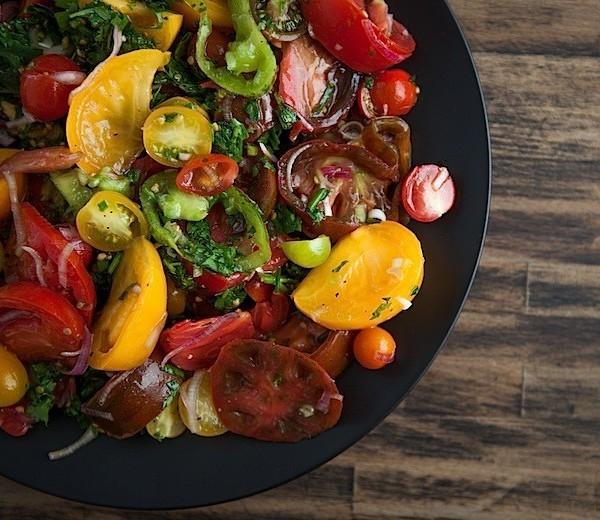 Herbed Tomato Salad