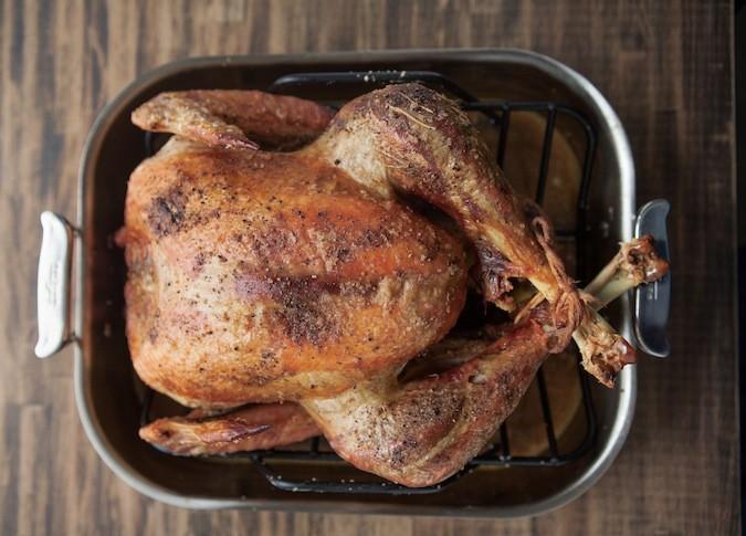 Dry Brined Roasted Turkey