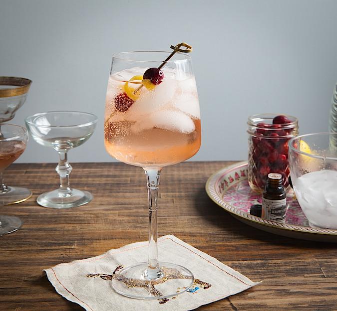 shrub spritzer strawberry rose spritzer pomegrante mint spritzer ...