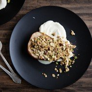 Roasted Pear Crumble