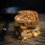 Grilled Ham and Cheese with Rosemary Mayo