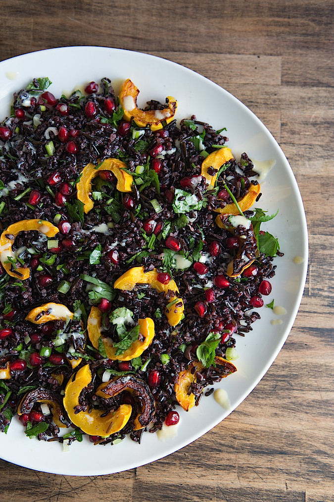 Middle Eastern Inspired Black Rice Salad  |  Chez Us