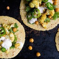 Curry Cauliflower Tacos