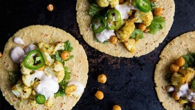 Curry Cauliflower Tacos | Chez Us