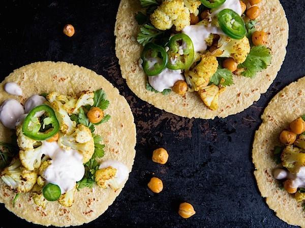 Curry Cauliflower Tacos | Chez Us