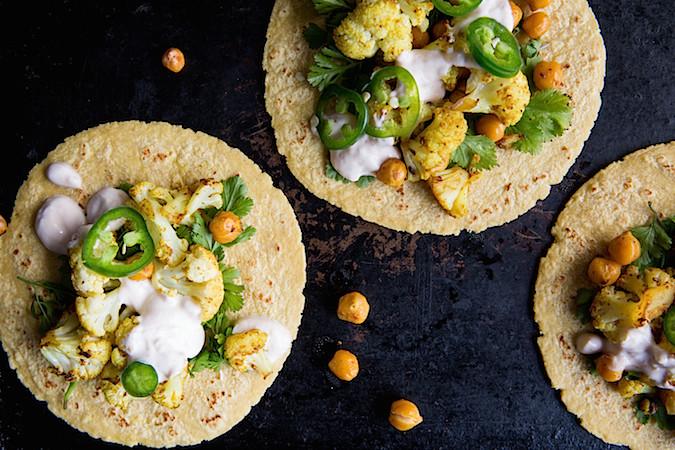 Curry Cauliflower Tacos   Chez Us