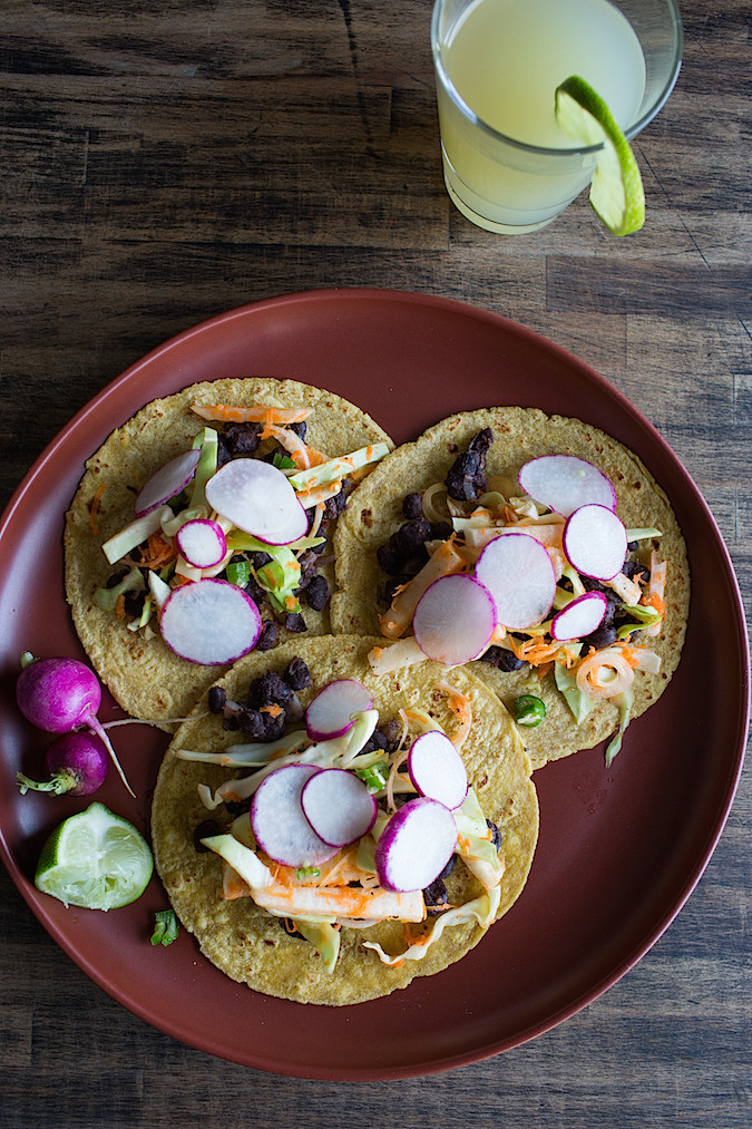 Black Bean Tacos | Chez Us
