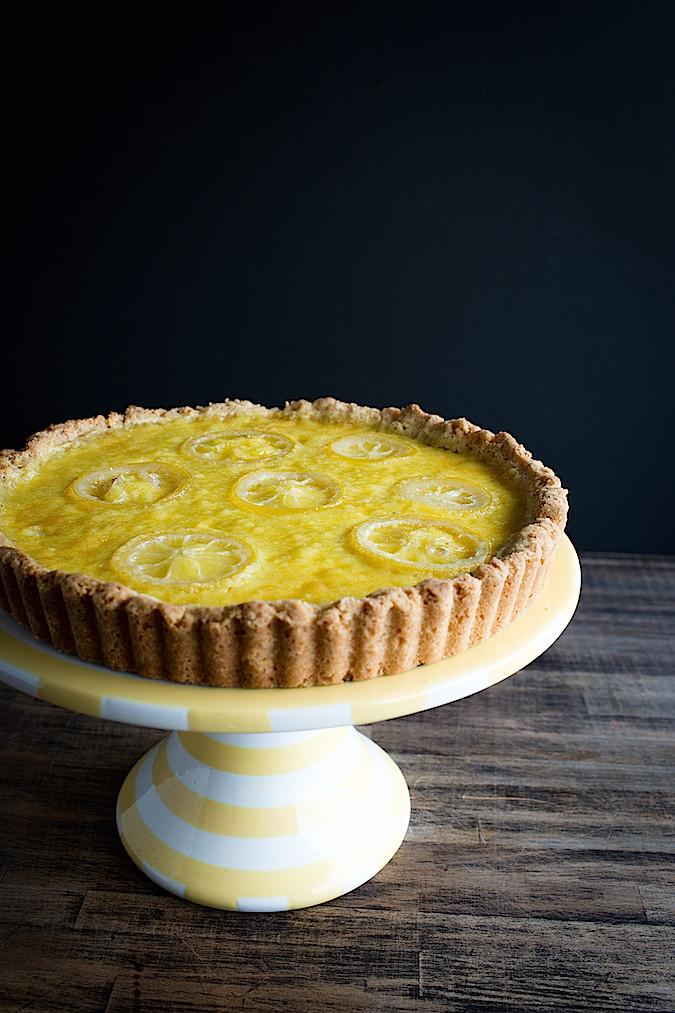 Meyer Lemon Cream Tart | Chez Us