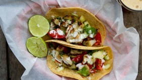 Pan Grilled Fish Tacos