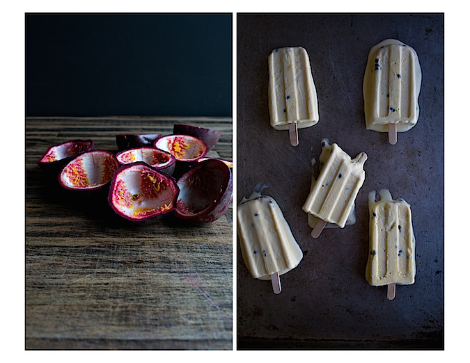 Passion Fruit Ice Cream | Chez Us