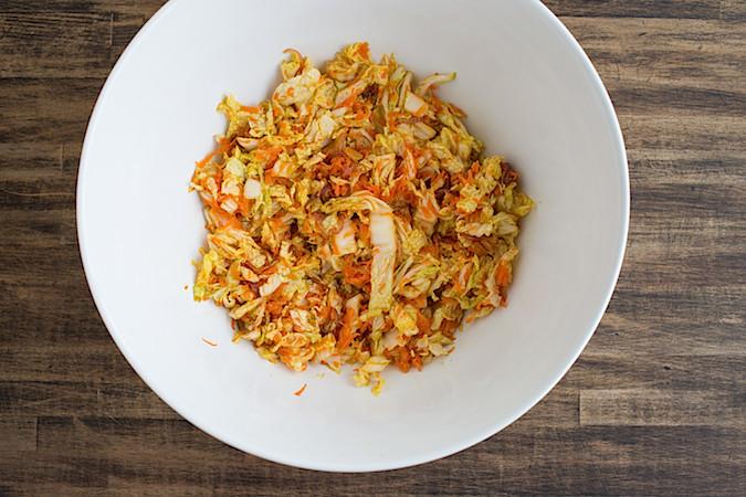 Kimchi Slaw  |  Chez Us