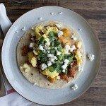 Chorizo Potato Breakfast Tacos