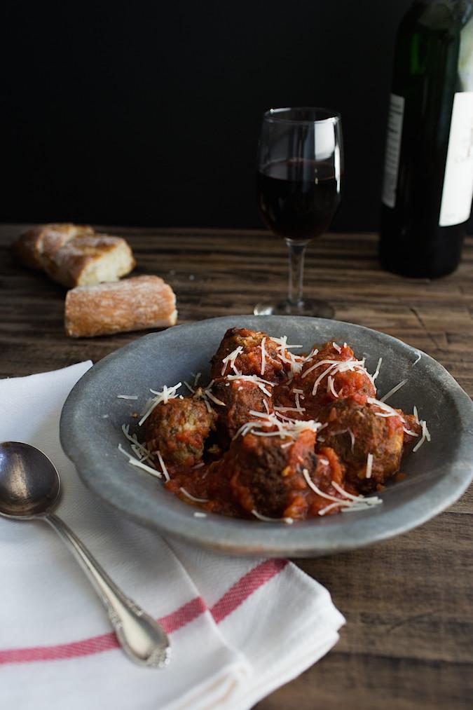 Lentil Ricotta Meatballs  |  Chez Us