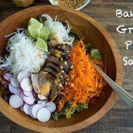 Banh Mi Grilled Pork Salad | Chez Us