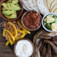 Spicy Margarita Fajitas