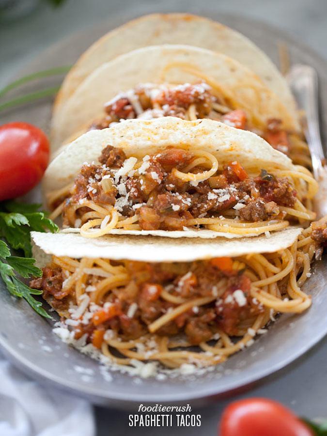 http://www.foodiecrush.com/2012/09/spaghetti-tacos-recipe/