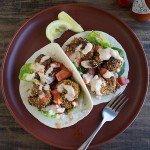 Shrimp Po'Boy Tacos