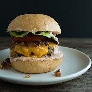 All American Cheese Burger | Chez Us