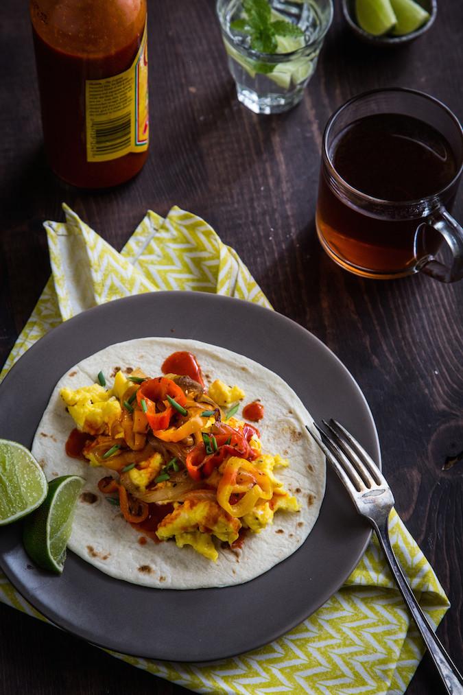 Breakfast Fajita Tacos_Emily Caruso