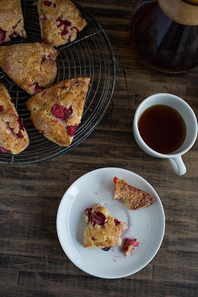 Strawberry Shortcake Scones   Chez Us