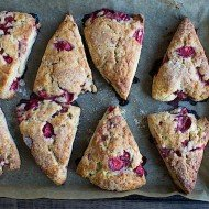Strawberry Shortcake Scones | Chez Us