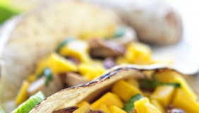 Caribbean Chicken Tacos | Chez Us