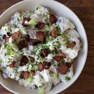 Baked Potato Salad | Chez Us