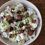 Baked Potato Salad | Chez Us