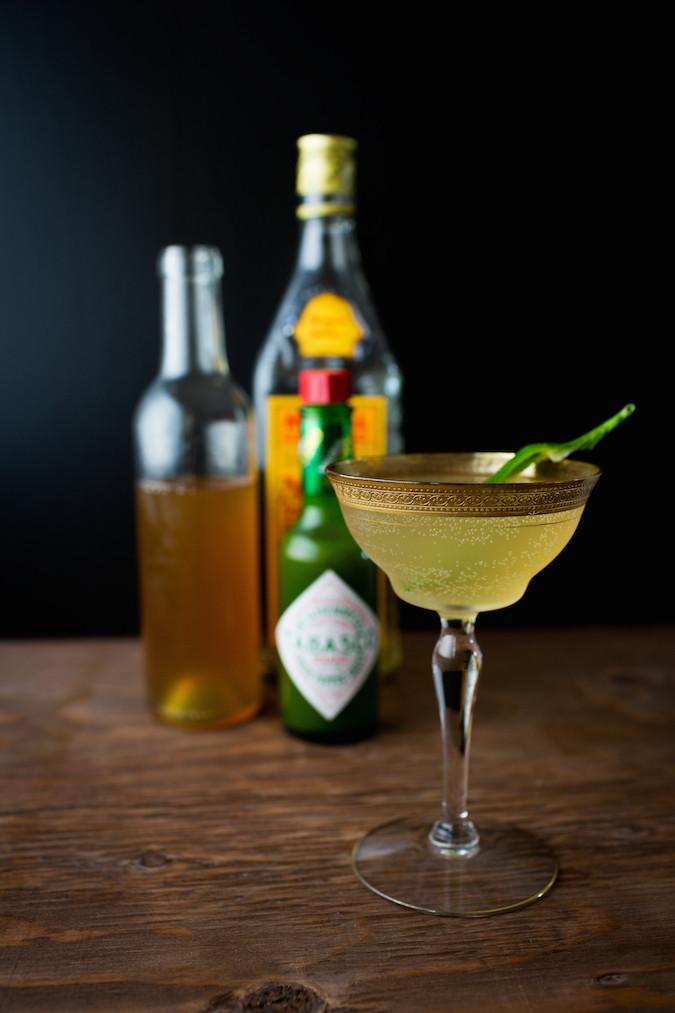 Green Jalapeño Pineapple Shrub | Chez Us