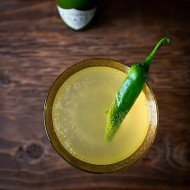 Green Jalapeño Pineapple Shrub | Chez Us
