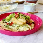 Vegetable Tempura Tacos