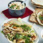 Shrimp and Elotes Tacos