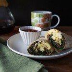 Mushroom Breakfast Burritos